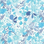 Paradiso 27201-13 Pearl Blue Bonaire by Kate Spain for Moda