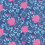 Paradiso 27202-12 Lagoon Blue Camellia by Kate Spain for Moda