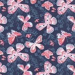 Aria 27230-16 Navy Butterfly by Kate Spain for Moda