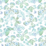 Aria 27230-17 Foliage Butterfly by Kate Spain for Moda
