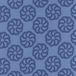 Aria 27232-16 Navy Fern by Kate Spain for Moda