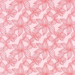 Aria 27234-11 Begonia Lily by Kate Spain for Moda