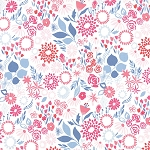 Aria 27235-14 Multi Water Mariposa by Kate Spain for Moda