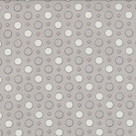 Jubilee 2845-34 Grey Geo Dot by Bunny Hill for Moda EOB