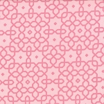 Jubilee 2854-11 Pink Geo Trellis by Bunny Hill for Moda
