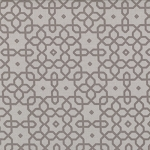 Jubilee 2854-18 Grey Geo Trellis by Bunny Hill for Moda