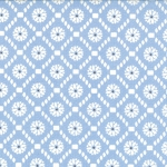 Jubilee 2855-12 Blue Medallion Check by Bunny Hill for Moda EOB
