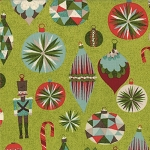 Aspen Frost 30331-15 Evergreen Tin Soldier by Basic Grey for Moda EOB
