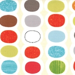 Mod Century 30513-11 Cream Pod Stripes by Jenn Ski for Moda