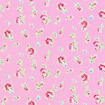 Flower Sugar Fall '13  30843-20 Small Floral on Pink by Lecien