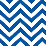 Half Moon Modern 32349-32 Royal Big Zig Zag by Moda