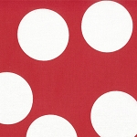 Half Moon Modern 32357-26 Ruby Big Dots by Moda