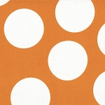 Half Moon Modern 32357-28 Tangerine Big Dots by Moda