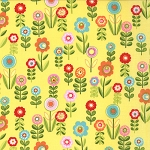 Cherry on Top 32703-15 Banana Candy Garden by Keiki for Moda