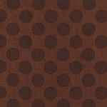 Cherry on Top 32705-19 Chocolate Dots by Keiki for Moda