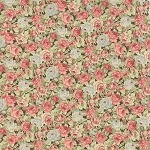 Roses & Chocolate 32922-14 Chocolate Packed Floral by Moda