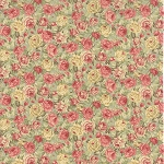 Roses & Chocolate 32922-15 Mist Packed Floral by Moda
