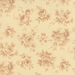 Roses & Chocolate 32924-11 Ivory Tonal by Moda