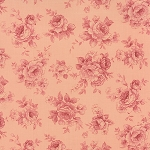 Roses & Chocolate 32924-12 Rose Tonal by Moda
