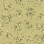 Roses & Chocolate 32924-15 Sage Tonal by Moda