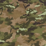 Because of the Brave 32954-11 Burlap Camo by Moda