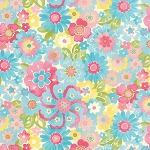 Colette 33052-12 Sky Blossom by Chez Moi for Moda