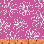 Shadow Flower 33444-3 Pink Outline Daisy by Windham Fabrics EOB