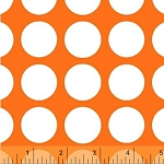Multidot 35187-4 Orange Medium Dot by French Bull for Windham