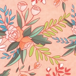 Tucker Prairie 36000-16 Primrose Prairie Bloom by Moda