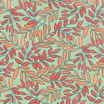 Tucker Prairie 36001-22 Winter Sage Vinca by One Canoe Two for Moda