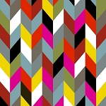 Ziggy 36533-X Multi Herringbone by French Bull for Windham