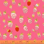 Briar Rose 37024-6 Pink Strawberry by Heather Ross for Windham