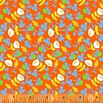 Briar Rose 37027-3 Orange Calico by Heather Ross for Windham