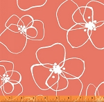 Mormor 37116-2 Coral Blomster by Lotta Jansdotter for Windham