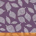 Mormor 37119-10 Eggplant Nopp by Lotta Jansdotter for Windham