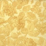 Paris Flea Market 3725-24 Tonal Lemon Chiffon Rose Garden by Moda