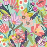 Garden Party Tango 38892-X Multi Large Floral by Windham