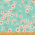 Garden Party Tango 38894-1 Aqua Daisies by Windham