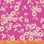 Garden Party Tango 38894-3 Magenta Daisies by Windham EOB