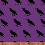 Raven 38987-4 Purple Raven by Rosemarie Lavin for Windham