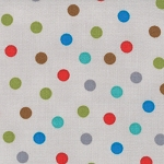 Bungle Jungle 39505-19 Grey Bungle Dot by Tim & Beck for Moda