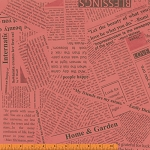 Paint 36530A-3 Coral News Print by Such Designs for Windham
