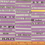 Paint 39700-1 Violet Staggered Stripe by Such Designs for Windham