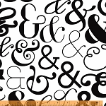 Ampersand 39743-2 White Large Ampersand by Windham