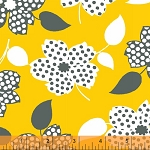 Mimosa 39980-2 Sunflower Polka Dot Flower by Windham