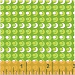Mimosa 39983-3 Lime Circle Circle Dot Dot by Windham