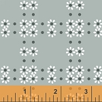 Mimosa 39985-7 Charcoal Daisy Grid by Windham
