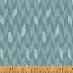 Ibiza 40060-5 Blue Broken Chevron by Rosemarie Lavin for Windham