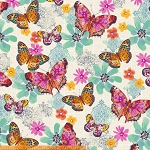 Mariposa 40085-X Multi Butterflies by Another Point of View for Windham