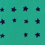 Mesa 4009-01 Aqua Indigo Stars by Alexia Abegg for Cotton + Steel